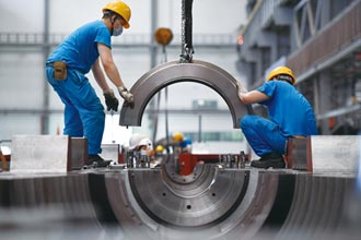 陸前二月工業增加值 年增35.1%