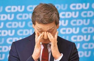 德地方議會選舉 梅克爾政黨慘敗
