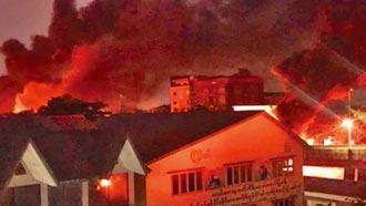 緬甸32中資廠遭毀 中國批惡劣