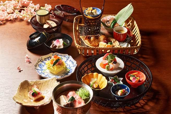 台北美福大飯店「晴山」日本料理,以日本飛驒和牛入饌推出春日限定「料理長特別推薦套餐」。(圖/台北美福大飯店)