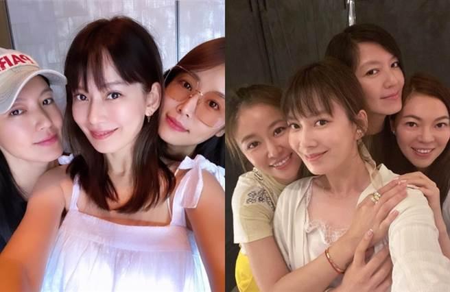 林心如朋友眾多,和林熙蕾、曾馨瑩、Melody、舒淇是閨密。(圖/IG@林心如)