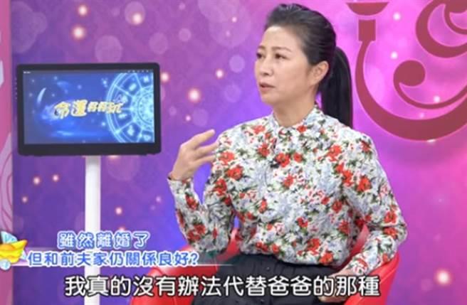 方文琳透露離婚後與前夫仍維持良好關係。(圖/Youtube)