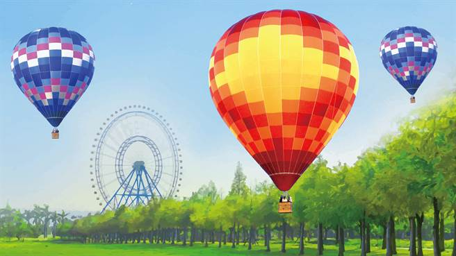 麗寶熱氣球夢想節將於兒童連假登場,每日繫留人數有限,已開放線上預購。(麗寶樂園渡假區提供/陳淑娥台中傳真)