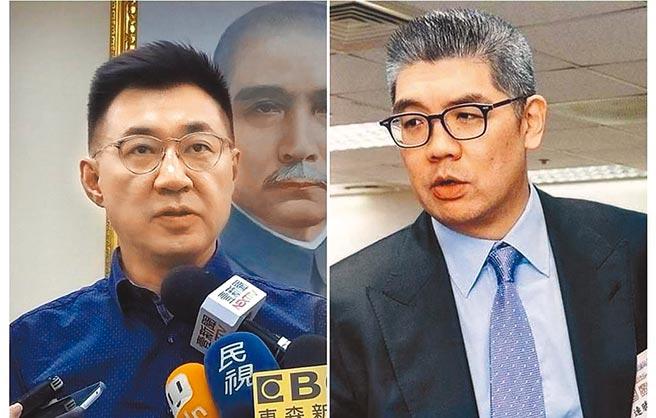 江啟臣(左)、連勝文(右)。(本報資料照片)