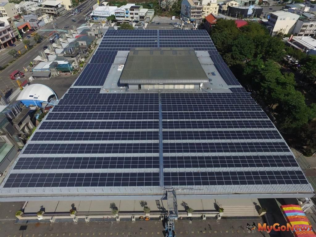 中市加碼補助設置太陽光電,工廠類建築物最高50萬元(圖/台中市政府)