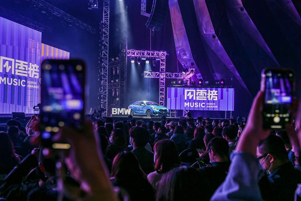BMW總代理汎德三度攜手KKBOX!THE 2共創音樂風雲榜年度盛會