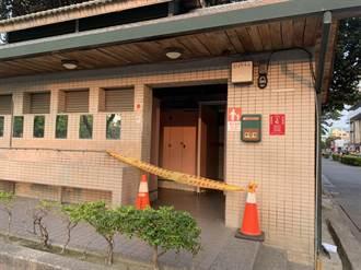 女清潔工倒臥公廁搶救無效 警拉起封鎖線採證調查