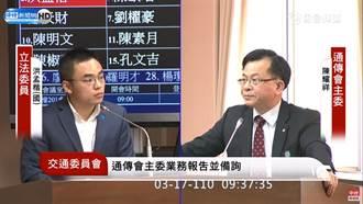 王定宇緋聞案三立「噤聲」遭檢舉 NCC主委陳耀祥:已要求說明