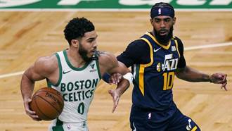 NBA》塞爾提克不敵爵士 塔圖三分球寫里程碑