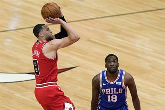 NBA》公牛擊潰雷霆 拉文40分5三分球寫隊史紀錄