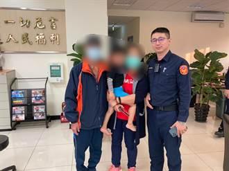 幼童貪玩溜出門迷途106線道 林口警與民眾臉書貼文助返家