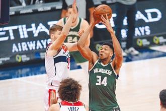NBA》單周場均大三元 公鹿字母哥獲東區最佳