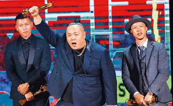 2018年頑童以《幹大事BIG THING》專輯,拿下金曲獎「最佳演唱組合」。(圖/翻攝自網路)