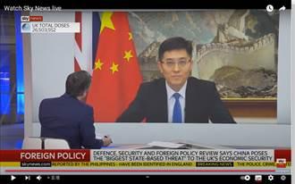 陸駐英使館在英媒闡述:中國不是威脅或系統性競爭者