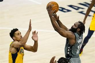 NBA》籃網逆襲溜馬 哈登40分超級大三元建功