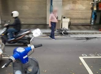 驚悚!台中男當街遭斷掌 員警街頭「找手」