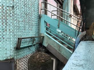 基一信橋與建物僅距1.5公尺 市府擬定設防護網