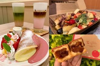 初春3大必吃草莓甜點 紅寶石鬆餅、法式吐司酸甜療癒