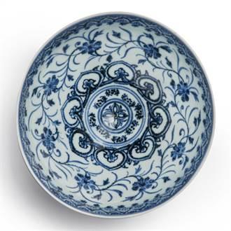 美舊貨攤購得明青花瓷碗拍出2萬倍高價 逾2千萬元落槌