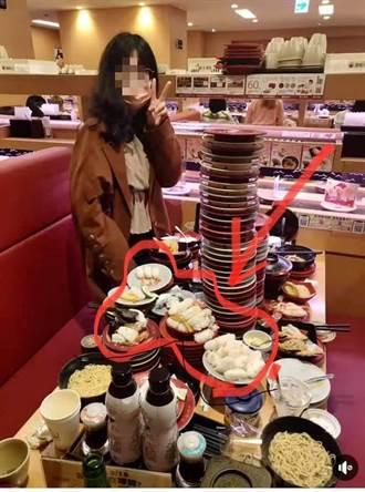 沒「鮭」矩 狂吞百盤壽司醋飯堆成山 網罵爆:免費變浪費
