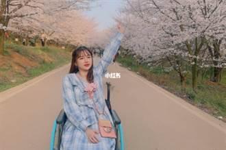 白富美25歲遇車禍四肢癱瘓 努力4年坐起來變美妝網紅