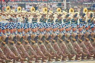 中國高階軍官月薪 增近萬台幣