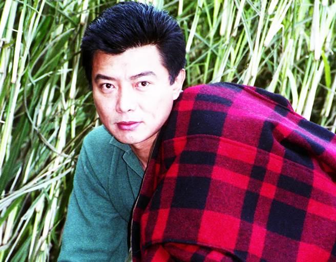 張佩華外型帥氣,曾是當紅瓊瑤小生。(中時資料照)