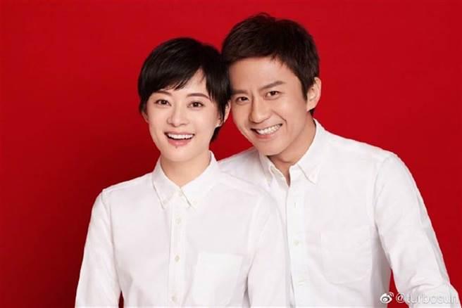 大陸男星鄧超和人氣女演員孫儷是演藝圈模範夫妻。(圖/ 摘自鄧超微博)