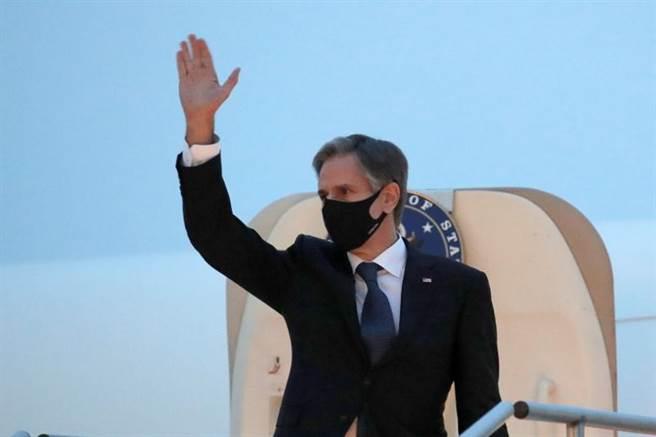 美國國務卿布林肯表示,施壓和外交手段都是美國應對北韓的可能選項。(圖/路透社)