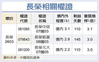 權證星光大道-中國信託證券 長榮 今年營運揚帆