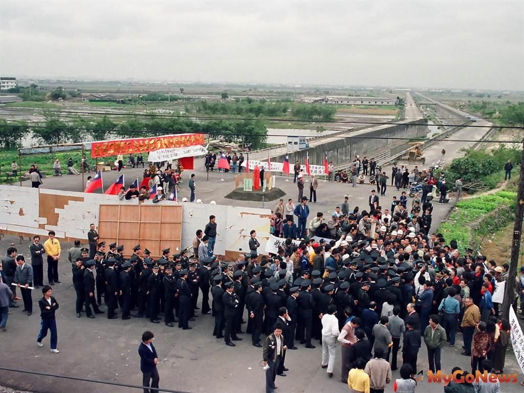 1988年2月北投機廠工程動工(圖/台北市政府)