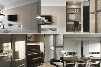 連鋼琴、床鋪都能輕鬆藏起來!5個超狂隱形收納設計