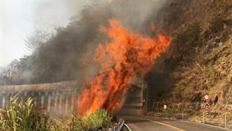 直擊》阿里山森林竄惡火 猛燒19小時夜空驚現紅火龍