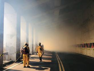 阿里山森林大火 嘉義林管處課長遭落石擊中送醫