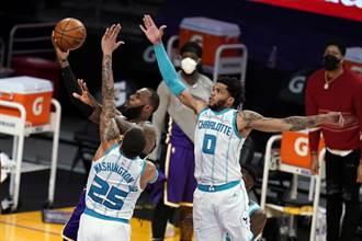 NBA》詹皇全能摘37分 湖人退蜂回升西區第2