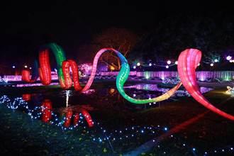 北港燈會叫好叫座 水道頭文化園區光環境展期延長到明年