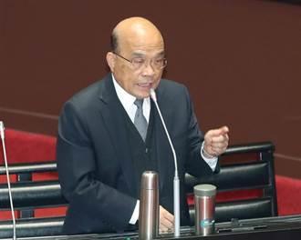 蘇貞昌:從不認為中國不會對台動武 用備戰以止戰