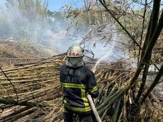 掃墓季苗縣雜草火警頻傳  乾旱救災水源也受威脅