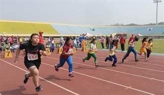 最棒的孩子 彰化縣適應體育田徑賽1259位選手拚了