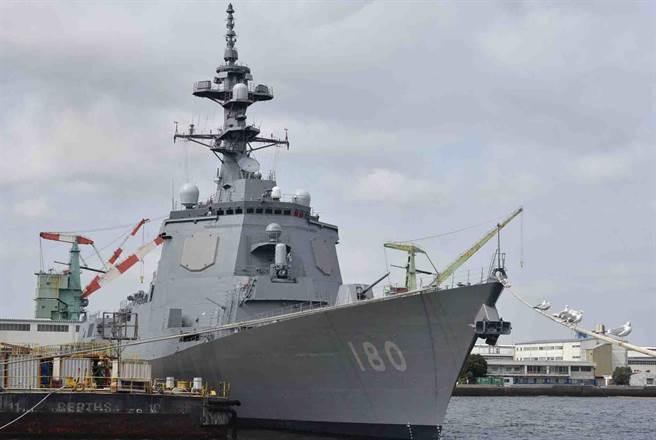 日本海上自衛隊「羽黑號」,舷號180。(圖/JMSDF)