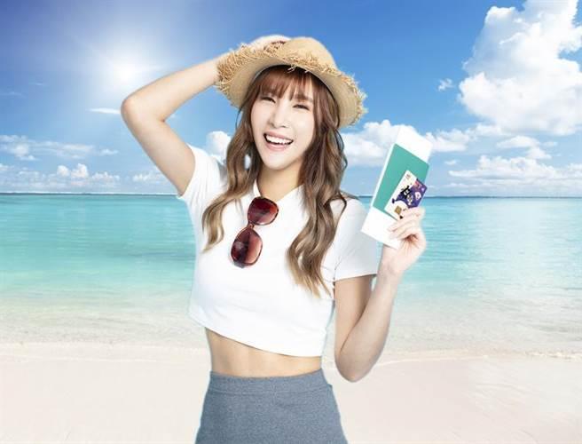 (兆豐銀行火速宣布推出旅遊泡泡刷卡送行李箱優惠,再抽機團費全額返現。圖/兆豐銀行提供)