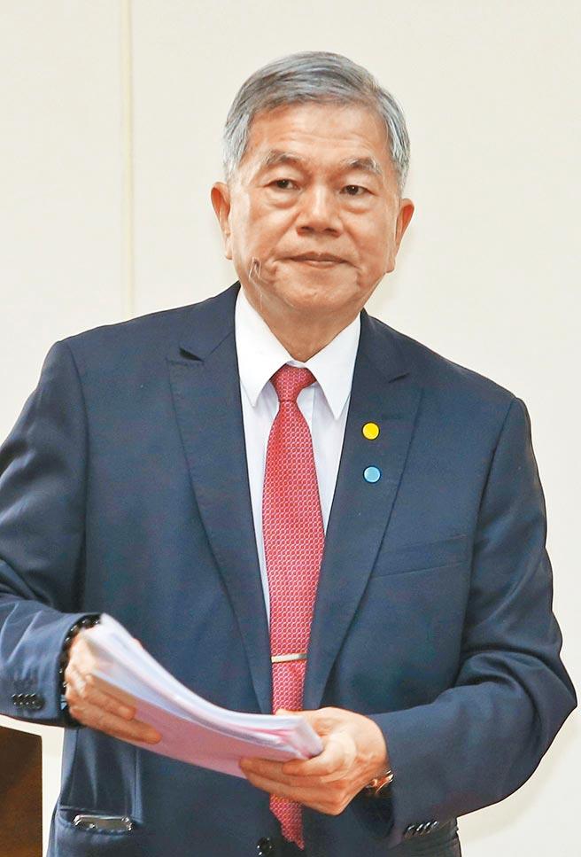 行政院副院長沈榮津。(本報資料照片)