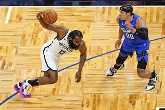 NBA》6連勝輸9連敗?籃網作客爆冷不敵魔術