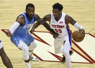 NBA》沃爾傷癒復出都救不了 火箭仍吞19連敗