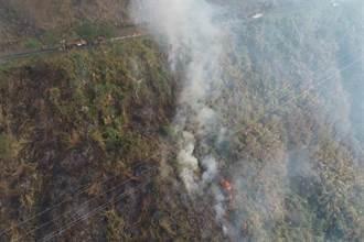 阿里山林班地大火火勢受控制 台18線預計晚上7點開放