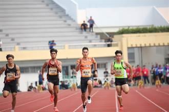 原民運「台灣最速男」楊俊瀚登場 奪公開男子組百公尺第一
