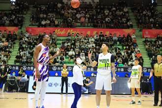 支持「酷運動」 盧秀燕為PLG職籃聯盟開球