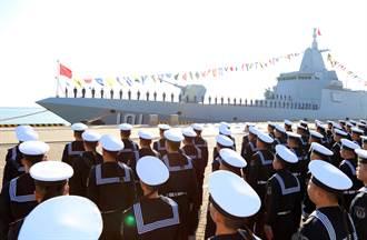 美中談不攏 直接秀肌肉 共軍055級驅逐艦首度在這現身
