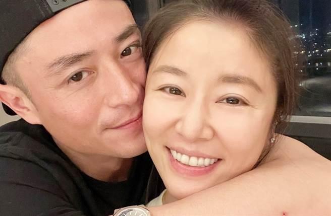 林心如、霍建華結婚5年。(圖/翻攝自Ruby林心如臉書)