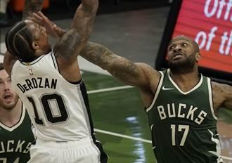 NBA》塔克首披公鹿戰袍 字母哥送6連勝歡迎